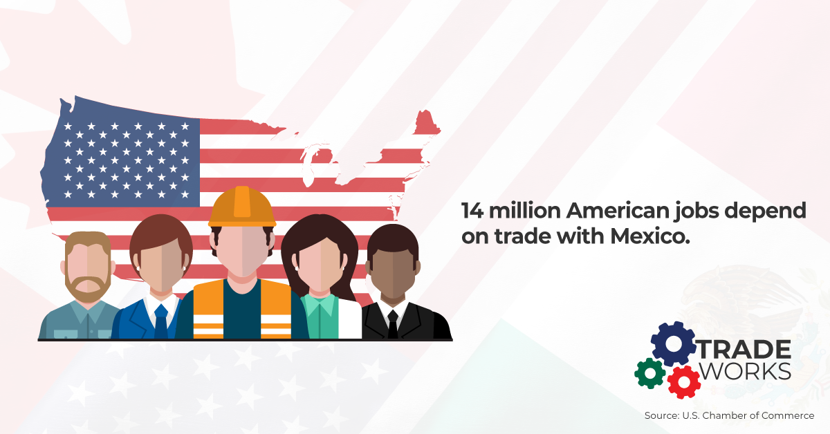 14_million_American_jobs depend on trade with Mexico